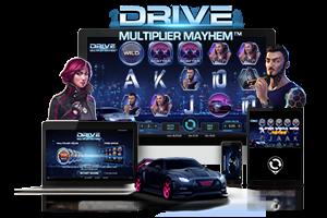 Drive multiplier mayhem spil på mobil og tablet