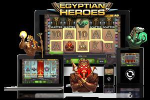 Egyptian Heroes spil på mobil og tablet