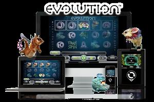 Evolution spil på mobil og tablet