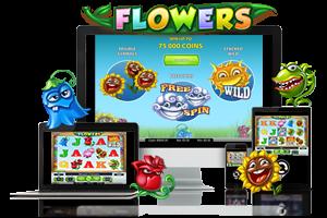 Flowers spil på mobil og tablet