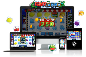 Fruit Shop Christmas spil på mobil og tablet