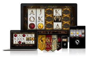 Game of Thrones spil på mobil og tablet