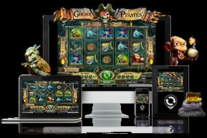 Ghost Pirates spil på mobil og tablet