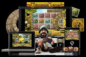 Gonzo's Quest spil på mobil og tablet