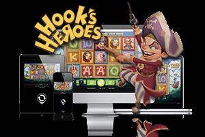 Hook's Heroes spil på mobil og tablet