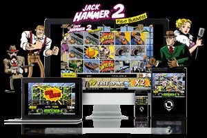 Jack Hammer2 spil på mobil og tablet