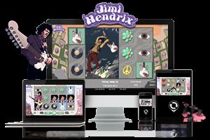 Jimi Hendrix spil på mobil og tablet