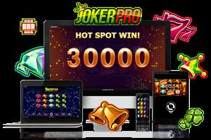 Joker Pro spil på mobil og tablet