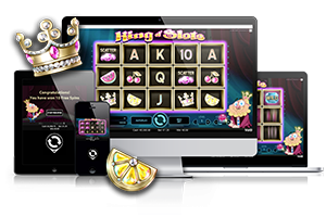 King of slots spil på mobil og tablet
