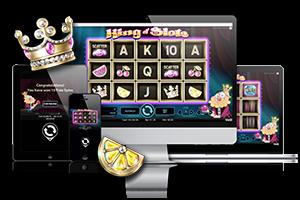 King of slots spil på mobil og tablet