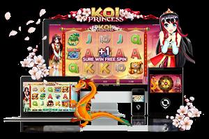 Koi Princess spil på mobil og tablet