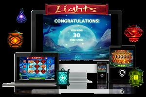 Lights spil på mobil og tablet