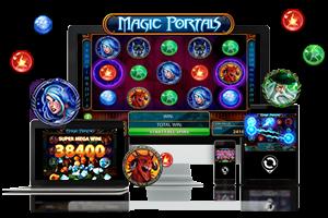 Magic Portals spil på mobil og tablet