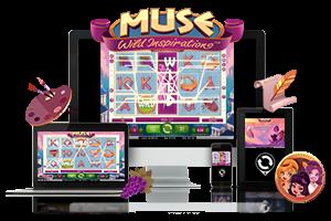 Muse spil på mobil og tablet
