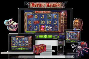 Mythic maiden spil på mobil og tablet