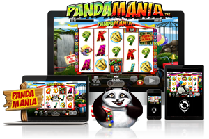 Pandamania spil på mobil og tablet