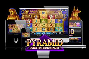 Pyramid spil på mobil og tablet
