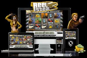 Reel Steal spil på mobil og tablet