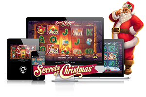 Secrets of Christmas spil på mobil og tablet