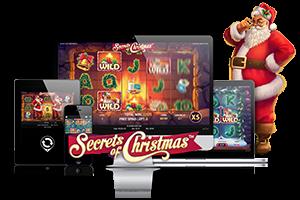 Secrets of Christmas spil på mobil og tablet