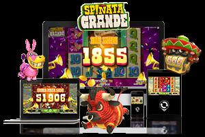 Spinata Grande spil på mobil og tablet