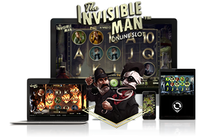 The Invisible Man spil på mobil og tablet