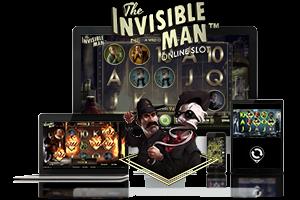 The Invisible Man spil på mobil og tablet