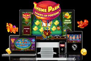 Theme Park spil på mobil og tablet