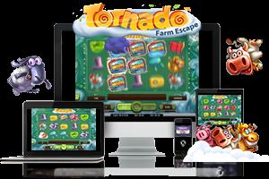 Tornado Farm Escape spil på mobil og tablet