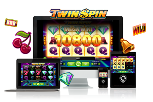 Twin Spin spil på mobil og tablet