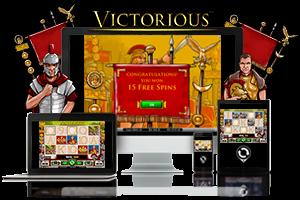 Victorious spil på mobil og tablet