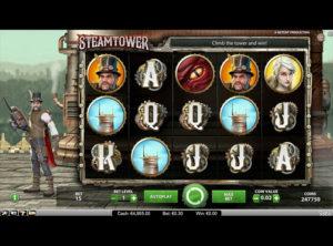 Steam Tower slotmaskinen SS 6