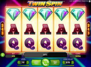 Twin Spin slotmaskinen SS 1