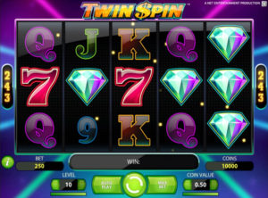 Twin Spin slotmaskinen SS 2