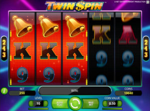 Twin Spin slotmaskinen SS 5