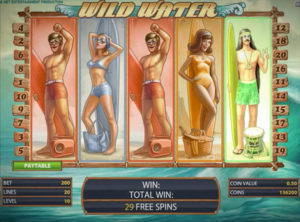 Wild Water slotmaskinen SS 1