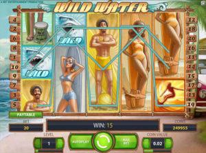 Wild Water slotmaskinen SS 2