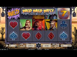 Wild Wild West: The Great Train Heist slotmaskinen SS-01