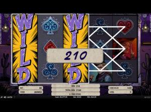 Wild Wild West: The Great Train Heist slotmaskinen SS-02