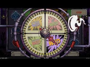 Wild Wild West: The Great Train Heist slotmaskinen SS-07