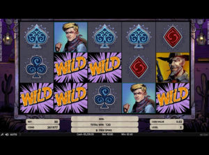 Wild Wild West: The Great Train Heist slotmaskinen SS-09