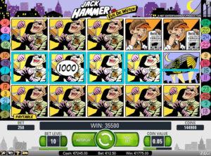 Jack Hammer slotmaskinen SS 6