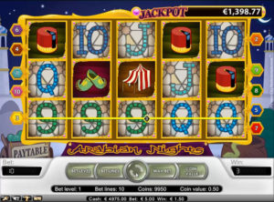 Arabian Nights slotmaskinen SS-01