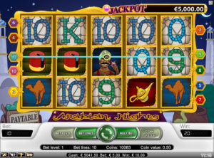 Arabian Nights slotmaskinen SS-08