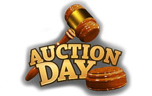 Auction Day Spilleautomaten fra Spilnu