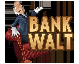 Bank Walt Spilleautomat - logo