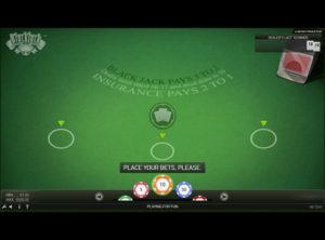 Blackjack Online spil - SS