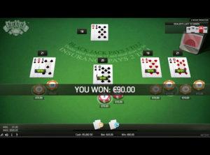 Blackjack Online spil - SS 7
