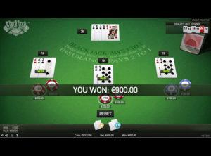 Blackjack Online spil - SS 8
