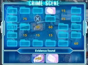 Crime Scene slotmaskinen SS-02